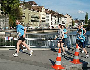 Lucerne city race 2005 fun category: boat club